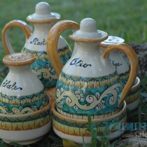 Terracotta Olio Aceto Sale Pepe Salento terra di Tradizioni