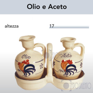 Conditavola Olio e Aceto con Galletto Salentino by Zerosalento