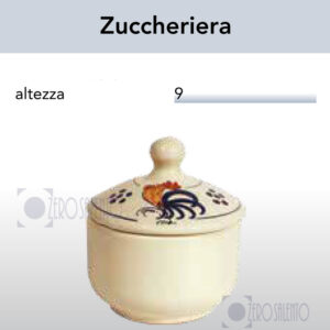 Zuccheriera con Galletto Salentino by Zerosalento