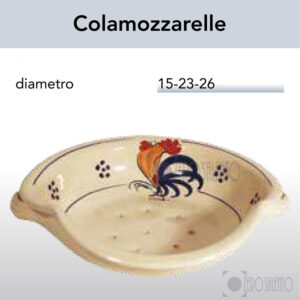 Cola mozzarelle in Terracotta con Galletto Salentino