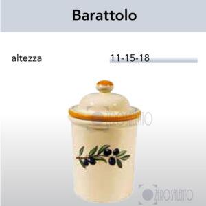 Barattolo con Ramo Olive Salentino by Zerosalento