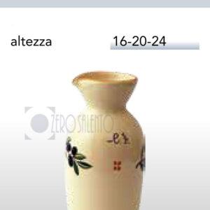 Brocca a Bottiglia con Ramo Olive Salentino by Zerosalento