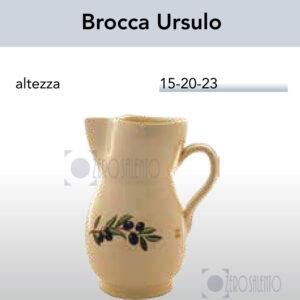Brocca Ursulo con Ramo Olive Salentino by Zerosalento