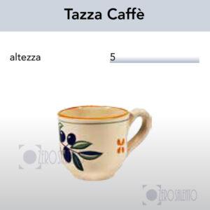 Tazza Caffè con Ramo Olive Salentino by Zerosalento