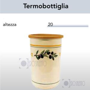 Termobottiglia con Ramo Olive Salentino by Zerosalento