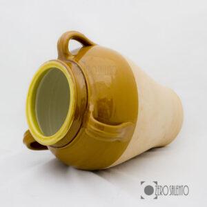 Capasa Salentina in Terracotta - Contenitore per olio d'oliva by Zerosalento