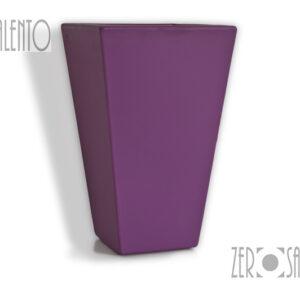 TELCOM - VASO PRISMA A PARETI LISCE CM40 by Zerosalento