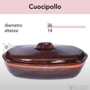 Cuocipollo serie Pirofile Bruna by ZeroSalento