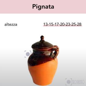 Pignata - Pirofile in Ceramica per cottura serie Rustica