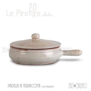 padella-bianco-pirofile-salento-maiolica-alta-resistenza-terracotta