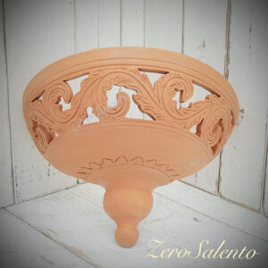 Applique Terracotta design imbuto TERIL49 Salento Illuminazione