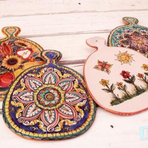 Terracotta Tagliere in quattro colorazioni