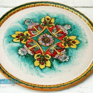 Guantiera Ceramica Salento per set Tazzine da Caffe Ter012A