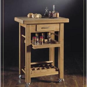 Mob001 Mobili - Tavolino da Cucina carrello multiuso