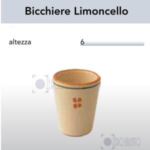 Bicchiere Limoncello - Liquore Ramo Olive Salentino by Zerosalento