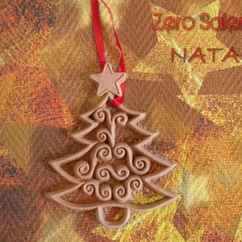 Addobbi albero Natale Alberello con stella