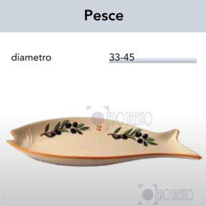 Antipastiera a forma di Pesce con Ramo Olive Salentino by Zerosalento