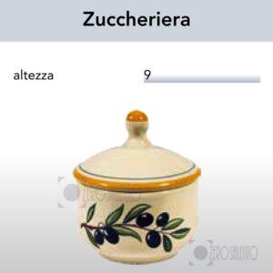Zuccheriera con Ramo Olive Salentino by Zerosalento
