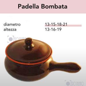 Padella Bombata serie Pirofile Bruna by ZeroSalento