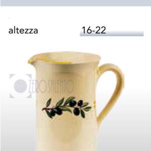 Brocca Boccale con Ramo Olive Salentino by Zerosalento