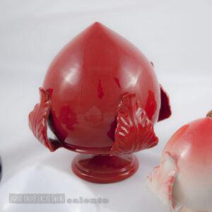 Pigne - Pomi in Terracotta Salentina colore Rosso by Zerosalento