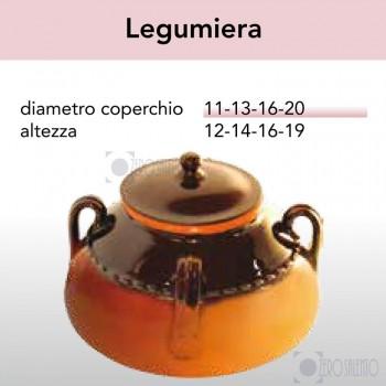 Legumiera - Pirofile in Ceramica per cottura serie Rustica