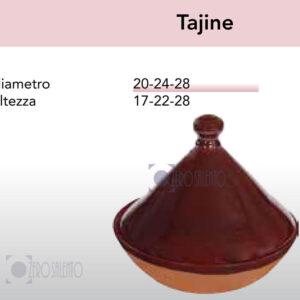 Pentola Tajine - Pirofile in Ceramica per cottura serie Rustica