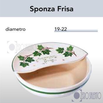 Sponza Frise in Terracotta Ceramica con decoro Edera Salento