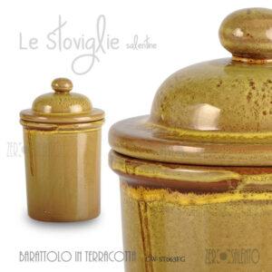barattolo-terracotta-contenitore-alimenti-erbe-aromatiche-giallo-salento