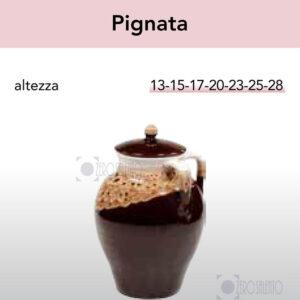 Pignata in Terracotta Ceramica serie Merletto by Zerosalento