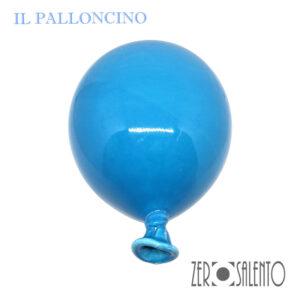 Palloni e Palloncini in Terracotta colorati Celeste