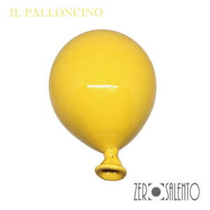 Palloni e Palloncini in Terracotta colorati Giallo