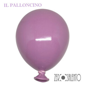 Palloni e Palloncini in Terracotta colorati Lilla