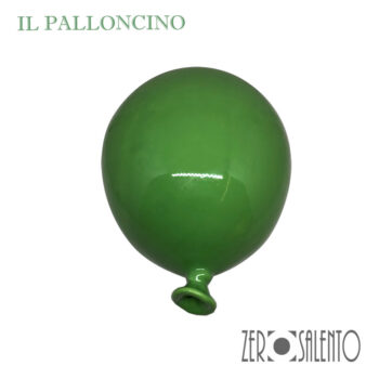 Palloni e Palloncini in Terracotta colorati Verde