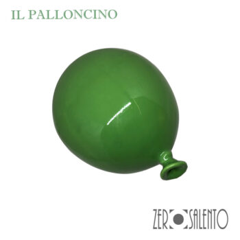 Palloni e Palloncini in Terracotta colorati Verde by ZeroSalento