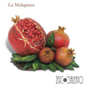Melagrane-quadrupla-in-Terracotta-dipinta-a-mano---il-frutto-dell'autunno-prodotto-artigianale