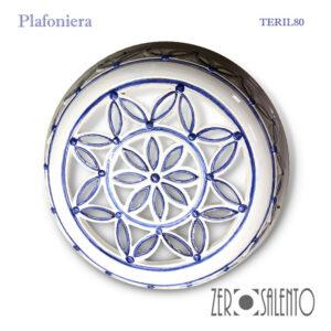 Plafoniera-in-Terracotta-intagliata-a-foglioline-finitura-anticata-by---ZeroSalento