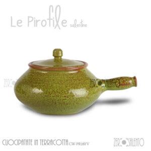 Cuocipatate-Terracotta-Pirofila-verde-CW-PR28FV-ceramica-Decape-shabby-chic1