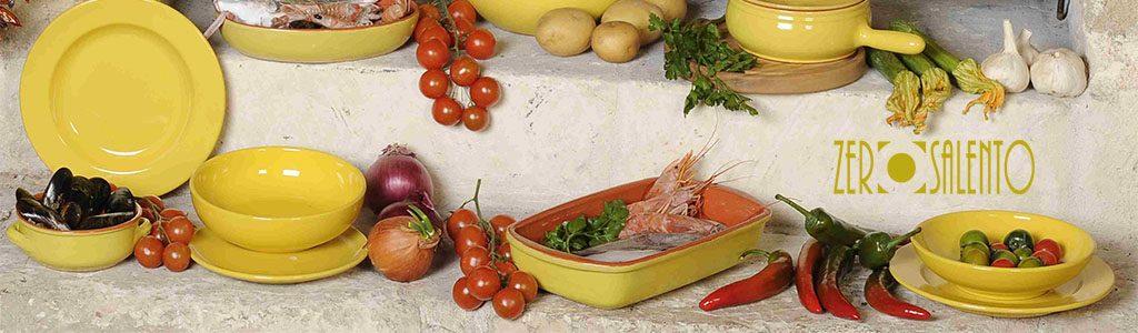 Banner Stoviglieria in Terracotta colore puro Giallo Mimosa 1